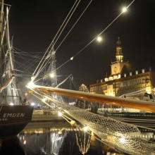 Christmas in the port of Emden - discovered with HiVino