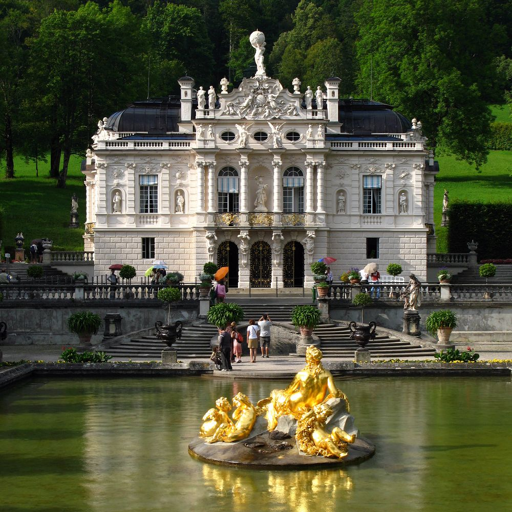 Travel to Linderhof Palace Discover Germany with Hivino
