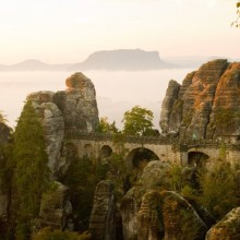 Bastei in Germany - a wonderful place for nature lovers