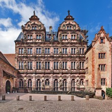 Beautiful Friedrichsberg, Heidelberg castle discovered with HiVino