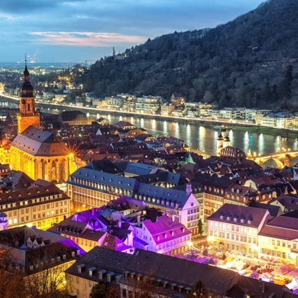 Travel to Christmas market Heidelberg Discover Germany with Hivino