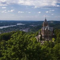 Beautiful Drachenburg castle discovered with HiVino