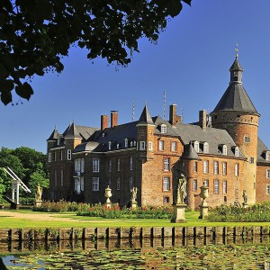 Anholt Castle - rare collections of art and history