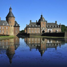 Beautiful Anholt castle in Germany discovered with HiVino