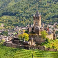 Beautiful Cochem castle discover with HiVino