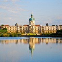 Beautiful Charlottenburg palace Berlin