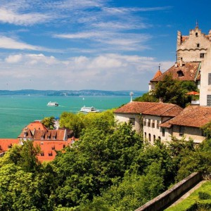 Meersburg Fortress on Lake Constance