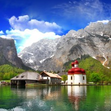 Breathtaking view in Berchtesgaden national park - HiVino