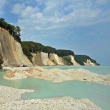The largest chalk cliffs in Jasmund National Park Germany exploring with HiVino