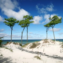 breathtaking scenery baltic sea
