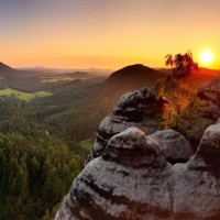 Amazing landscapes in Saxon Switzerland National Park with HiVino