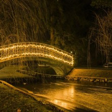 Christmas bridge in Reichenau discovered with HiVino