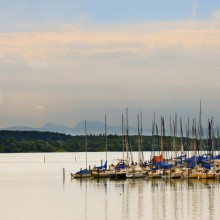 Sailing on the Chiemsee in Germany - HiVino