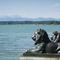 Beautiful landscape at lake Starnberg - HiVino