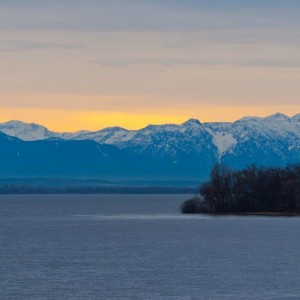 Lake Ammersee - the third largest lake in Bavaria
