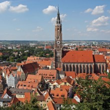 Beautiful Medieval Landshut with HiVino