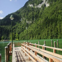 Boat launch Lake Königssee - HiVino