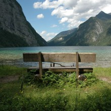 View over Lake Königssee - enjoy it with HiVino