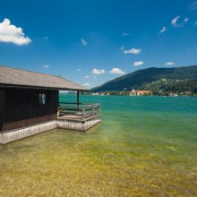 Beautiful cove of Lake Tegernsee discover with hivino