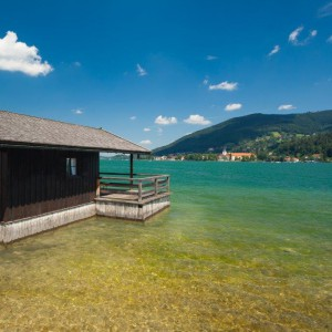 Lake Tegernsee- cleanest lakes in the Alps