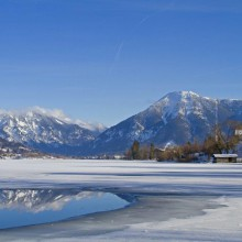 winter at Lake Tegernsee discovered with HiVino