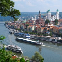 Breathtaking view over Passau Germany - HiVino