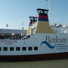 Ferry Emden-Borkum discovered with HiVino