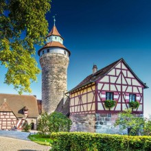 Wonderful Nuremberg castle in Germany- HiVino