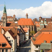 spectacular view all over Nuremberg - HiVino