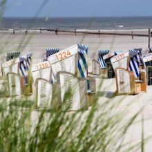 beautiful beaches in Norderney - HIVino
