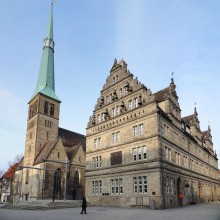 City view of Hamelin - discover Germany with HiVino