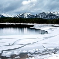Stunning Eibsee in winter discovered with HiVino