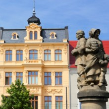 Beautiful center of Cottbus discovered with HiVino