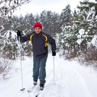 Cross-country skiing in Lennestadt / Hohe Bracht - HiVino