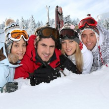 Fun with friends in the ski resort Bergen - discovered with HiVino