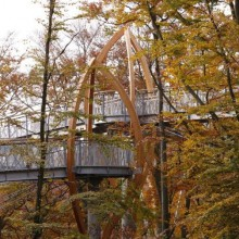 TreeTopWalk at Nationalpark Kellerwald-Edersee discover Germany with hivino