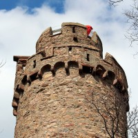 Tower of Castle Auerbach – discovered with HiVino
