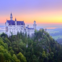 Fairytale castle Neuschwanstein Germany