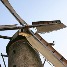 Beautiful windmill in Xanten - HiVino