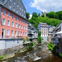 The Red House in Monschau - discovered with HiVino