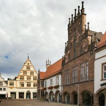 Beautiful buildings in Lemgo - discovered with HiVino
