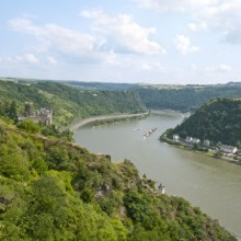 The famous Lorelei in Germany - discovered with HiVino