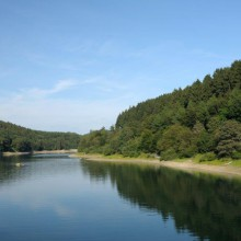 The Biggesee in Attendorn - discover Germany with HiVino