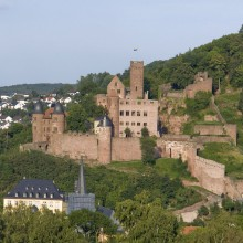 View at Wertheim Castle, Germany - HiVino