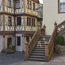 Half-timbered houses in Wertheim - discover Germany with HiVino