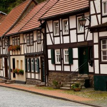 Beautiful half-timbered houses in Mühlhausen – discovered with HiVino