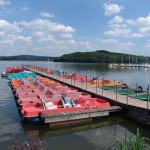 Bostalsee - the largest lake in Saarland