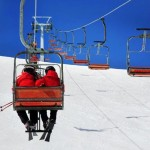 Ski-lift at the Seimberg in Brotterode