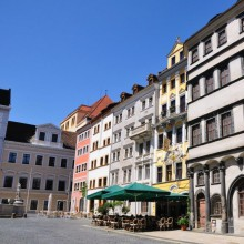 beautiful facade in Görlitz discovered with HiVino