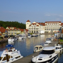 Beautiful Rheinsberg haven - HiVino